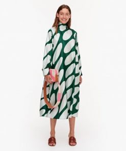 Marimekko Aaltoilee Linssi Dress Green