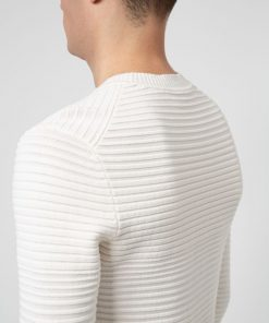 Hugo Boss Sotton Knitwear White