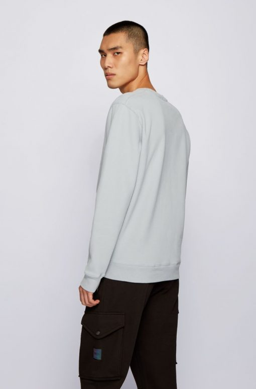 Hugo Boss Weevo 2 Sweatshirt Light Grey