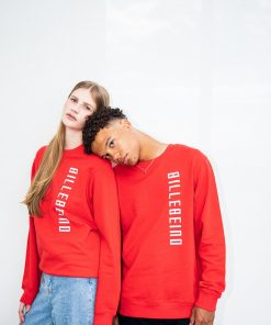 Billebeino Side Print Sweatshirt Red