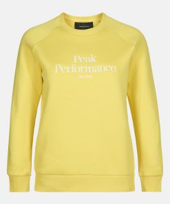 Peak Performace Original Crew Women Citrine