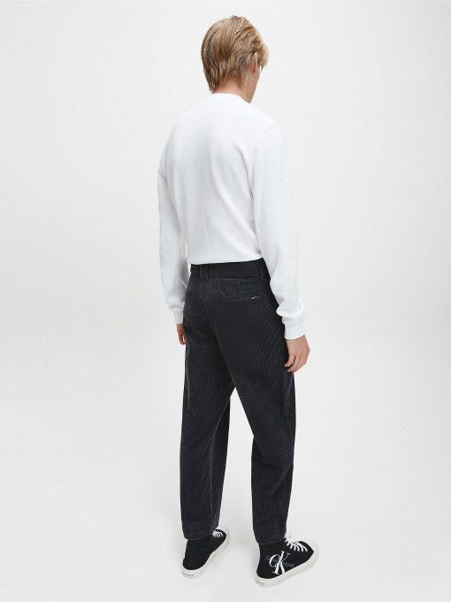 Calvin klein Long Sleeve Waffle T-shirt White