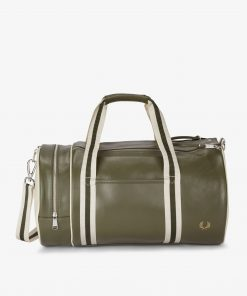 Fred Perry Classic Barrel Bag Irish Leaf
