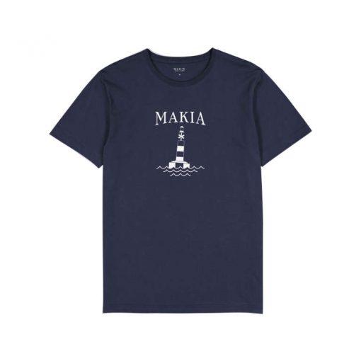 Makia Utu T-shirt Dark Blue