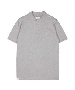 Makia Frank Polo Light Grey