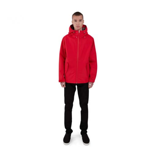 Makia 3L Region Jacket Red