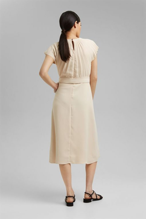 Esprit Dress Cream Beige