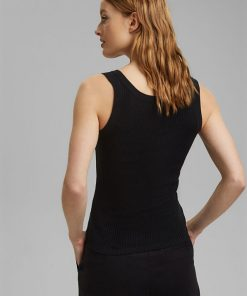 Esprit Knitted Top Black