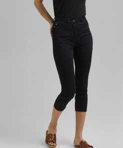Esprit Cropped Pants Black