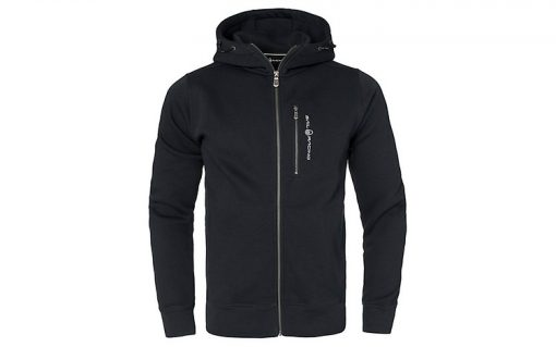 Sail Racing Bowman Zip Hood Carbon Black