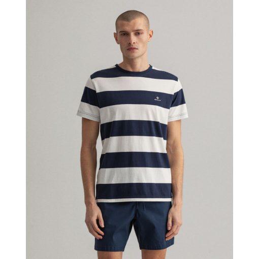 Gant Barstripe T-shirt Eggshell