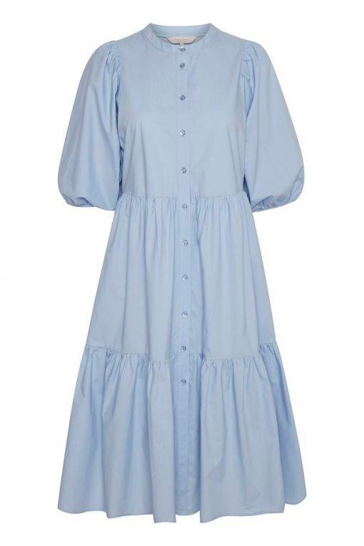 Part Two Hasita Dress Brunnera Blue