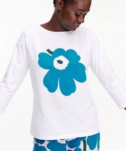 Marimekko Ilma Unikko Placement T-shirt White