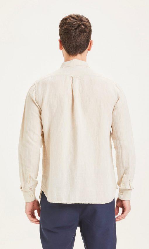Knowledge Cotton Apparel Larch Linen Shirt