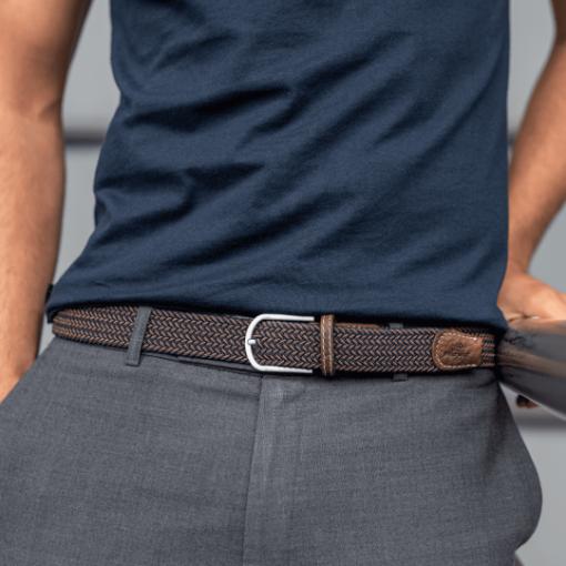 Billybelt Elastic Woven Belt The Havana