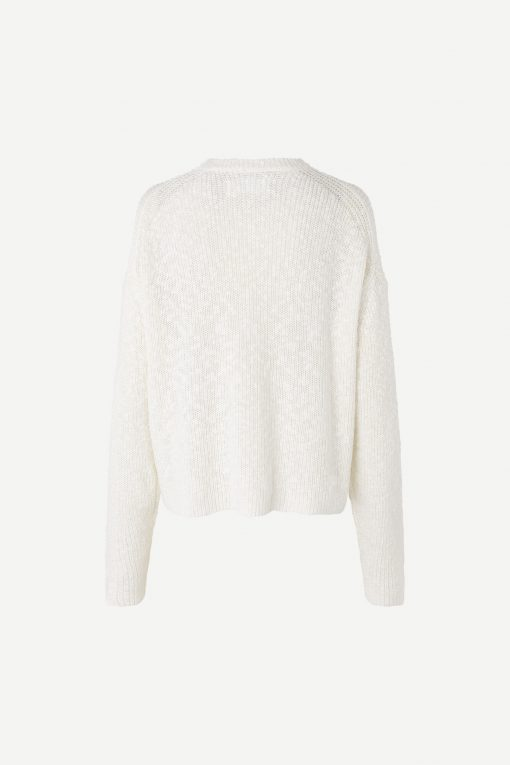 Samsoe & Samsoe Zoey Crew Neck Antique White