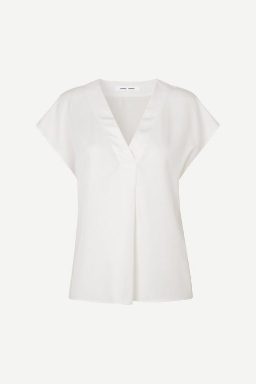 Samsoe & Samsoe Himill Blouse Antique White