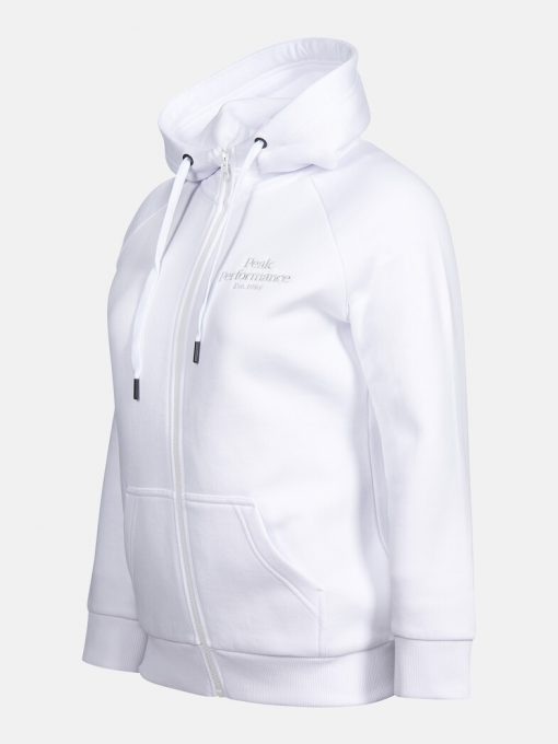 Peak Performance Original Zip Hoodie Women White