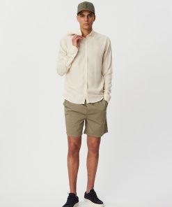 Les Deux Christoph Linen Shirt Ivory