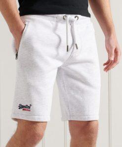 Superdry Orange Label Classic Jersey Shorts Ice Marl