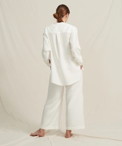 A Part of the Art Airy Shirt Soft Modal White