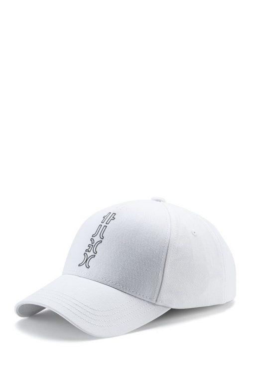 Hugo Boss Cropped Logo Cap White