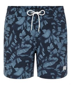 J.Lindeberg Banks Pattern Swim Trunks Navy
