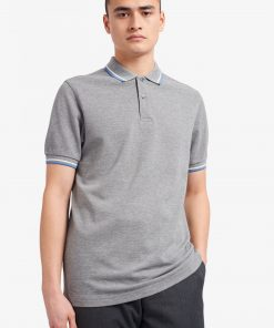 Fred Perry M3600 Pique Steel Marl
