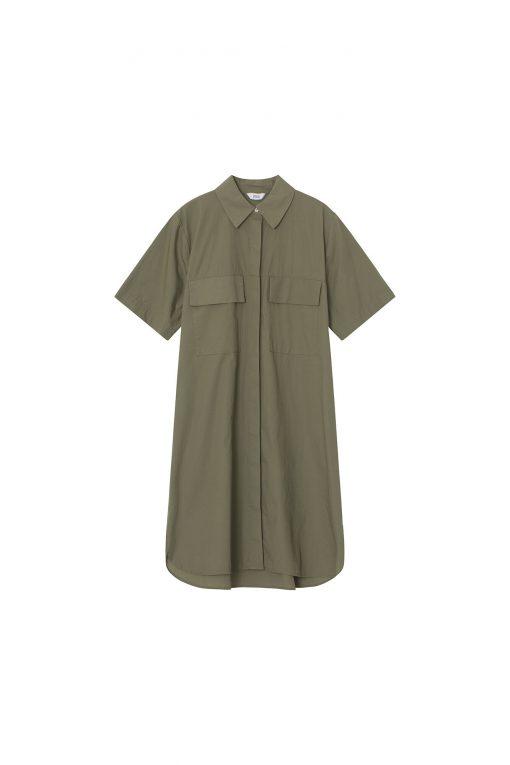 Envii Enwheat Dress Deep Lichen Green