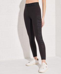 Superdry Essential 7/8 Leggings Black