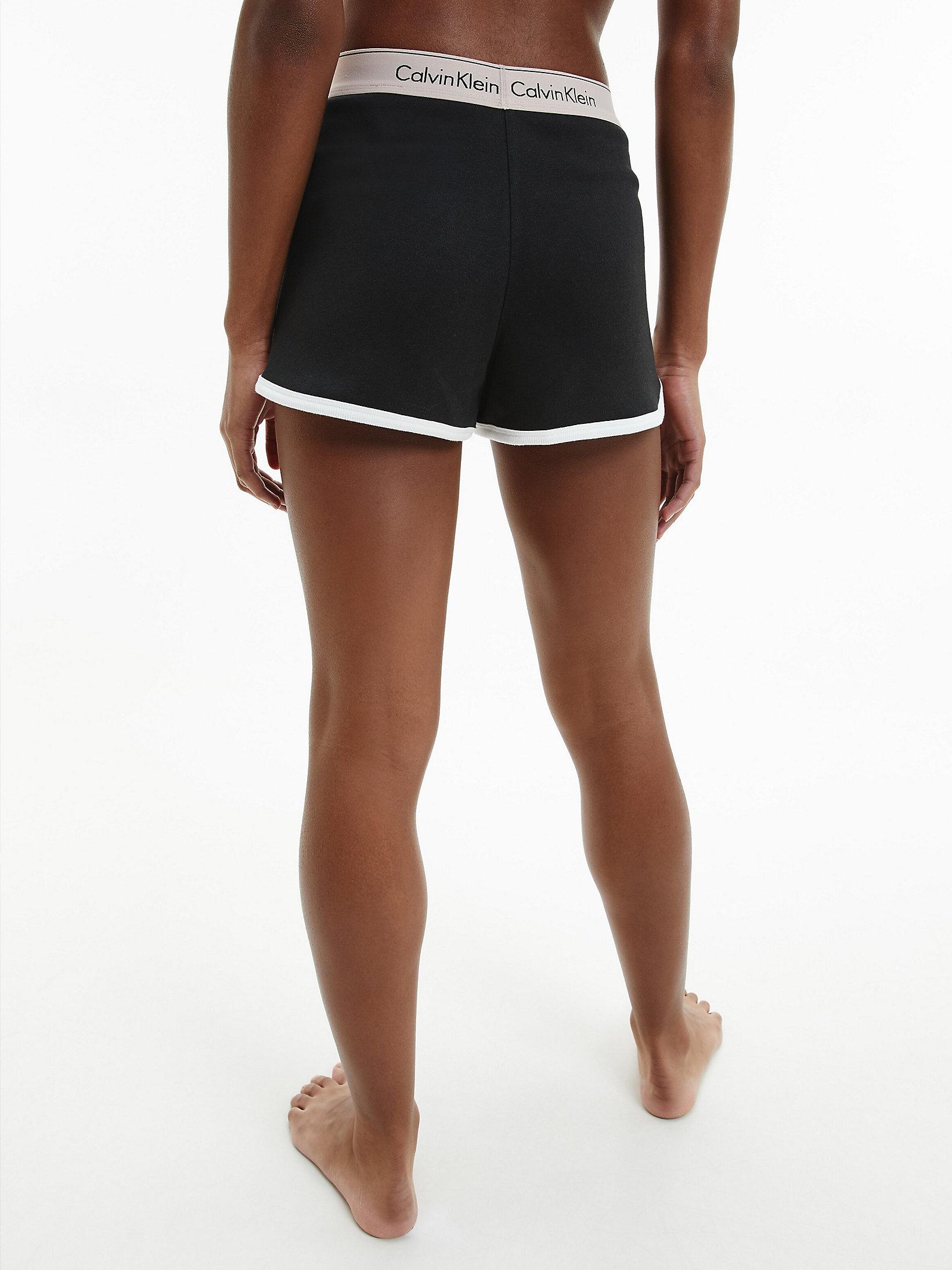 Calvin Klein Lounge Shorts Black