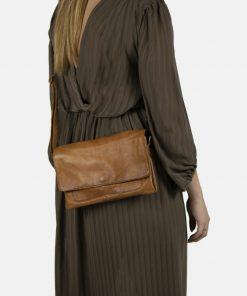 RE:DESIGNED Davina Crossover Bag Tan