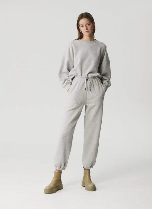 Gestuz Rubygz Pants Grey Melange