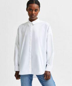 Selected Femme Hema Shirt White