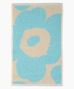 Marimekko Unikko Quest Towel 30 x 50 cm Light Blue
