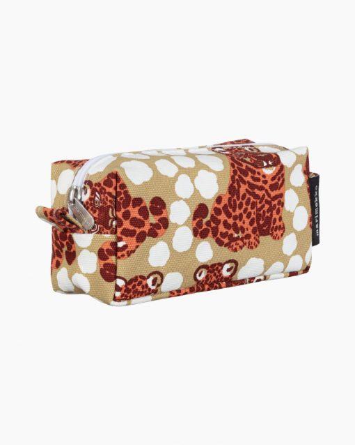 Marimekko Tiise Kaksoset Cosmetic Bag Brown