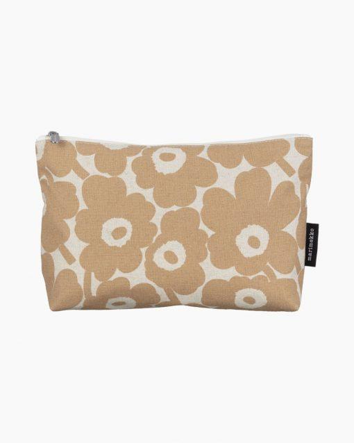 Marimekko Relle Mini Unikko Cosmetic Bag Beige
