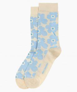 Marimekko Hieta Unikko Socks Blue