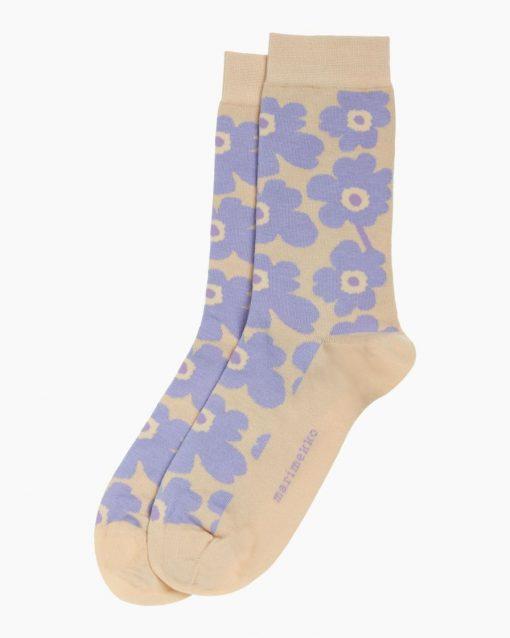 Marimekko Hieta Unikko Socks Lavender