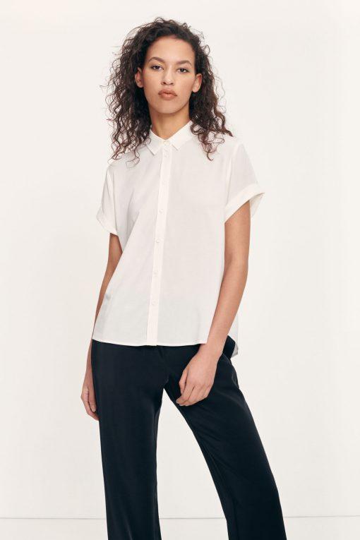 Samsoe&Samsoe Majan Shirt Clear Cream