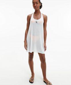 Calvin Klein Beach Tank Dress White