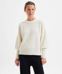 Selected Femme Sif Kaya Knit Birch