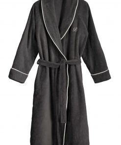 Balmuir Portofino Robe Dark Grey