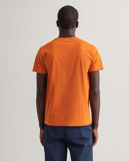 Gant Archive Shield T-shirt Savannah Orange