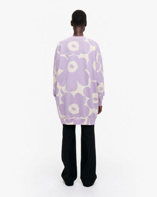 Marimekko Huhtasini Unikko Shirt Lilac