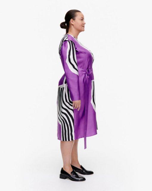 Marimekko Rautias Vuolu Dress Lilac