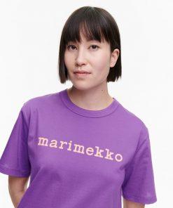 Marimekko Kapina Logo T-shirt Lilac