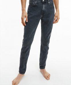 Calvin Klein Slim Taper Jeans Denim Black