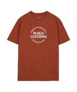 Makia Reckon T-Shirt Copper