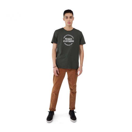 Makia Reckon T-Shirt Dark Green